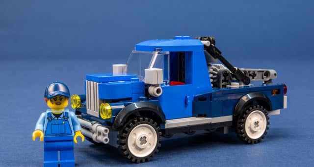 Funny Things about the Lego Corner garage