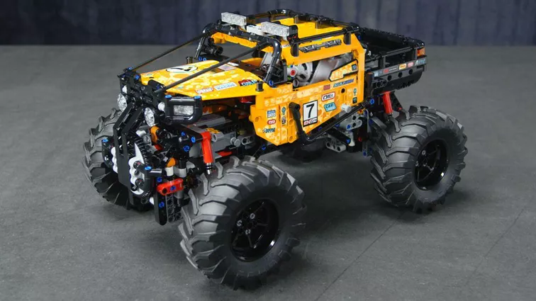 The Wonders Lego 4*4 X-treme Off-Roader 42099