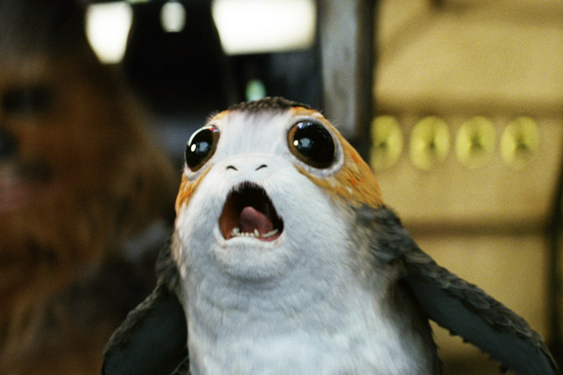 Brightest Last Jedi Porg 75230 set