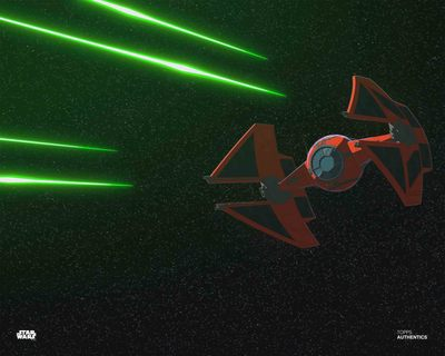 Wondrous lighting Major Vonreg's TIE Fighter 75240