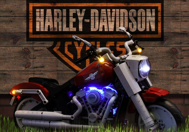 Creator Harley Motorcycle 10269 Set: An Inspiration for Adventure Ride