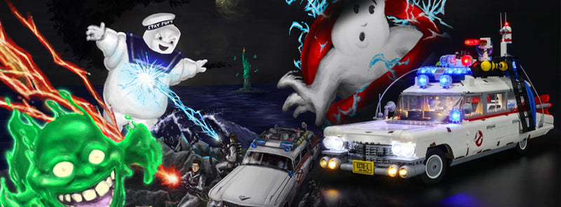 The Ultimate Creator Ghostbusters ECTO-1 10274!