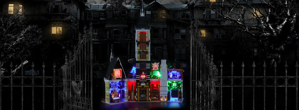 Discover The Thrills And Surprises With This Stunning Lego Haunted House 10273
