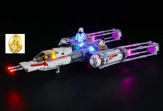 Remarkable Cokpite To Your Build Set: Resistance Y-Wing Starfighter 75249