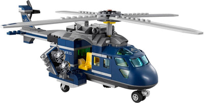 Lightailing Releases Jurassic World Blue's Helicopter Pursuit 75928