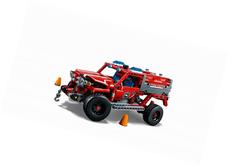 Lighting Delightful First Responder 42075 Set