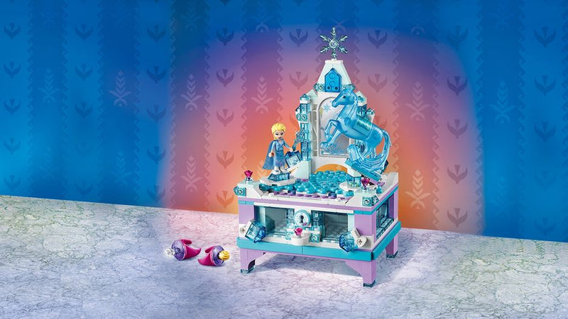 A Perfect Gift for Disney Princess fans: Lighting Elsa's Jewelry Box Creation 41168