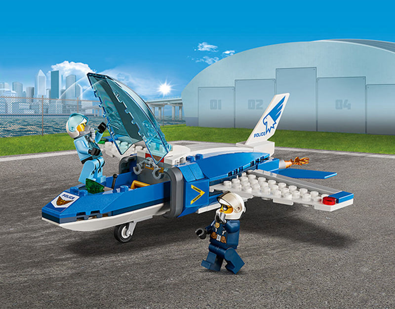 Awesome 60208 Sky Police Parachute Arrest set!