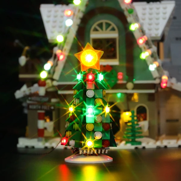 Light Kit For Elf Club House 10275