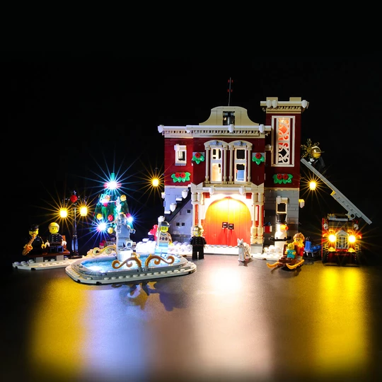Light Kit For Winter Village Fire Station 10263