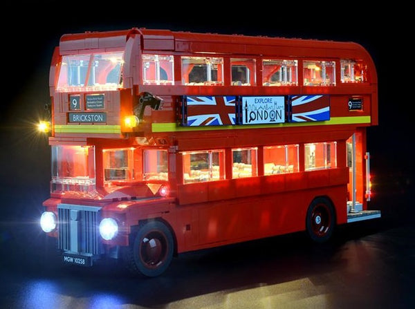 Lego London Red Bus  light kit
