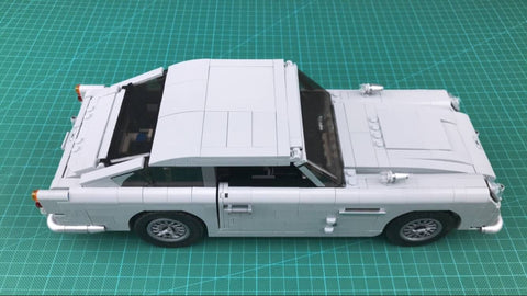 James Bond Aston Martin DB5 Instruction 1