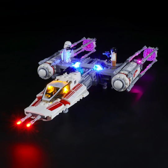 Remarkable Cokpite To Your Build Set Resistance Y Wing Starfighter 75249 Lightailing