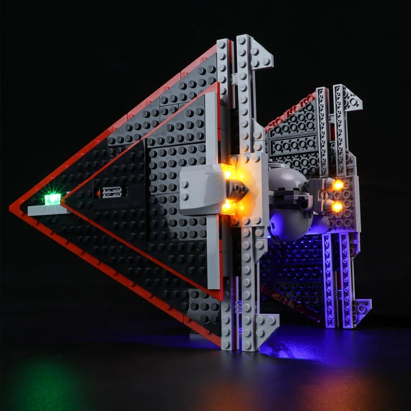 Light Kit For Sith TIE Fighter 75272
