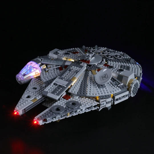The Ultimate Icon Of The Lego Starwars Universe The Millennium Falcon 75257 Lightailing