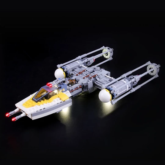 Y-wing lego set light kit