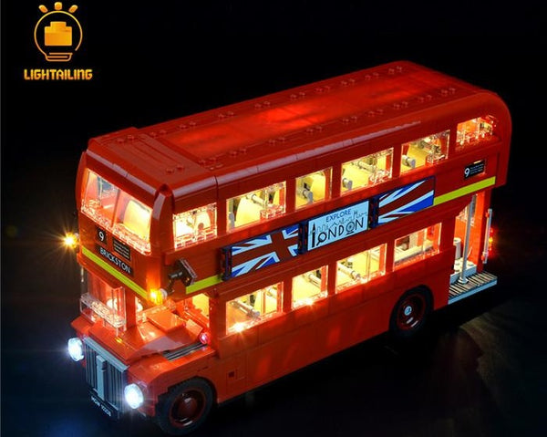 Lego light for London Bus