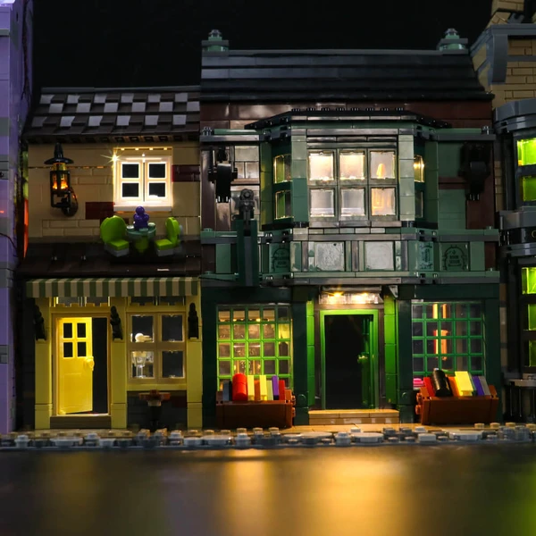 Lights for lego Diagon Alley75978