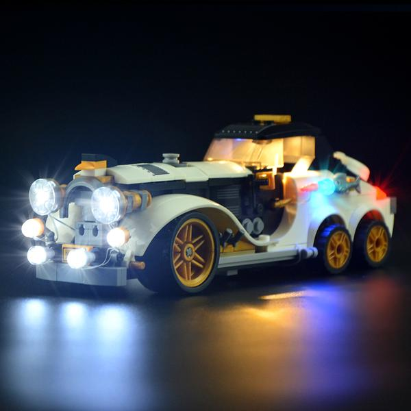 how to build a small lego car