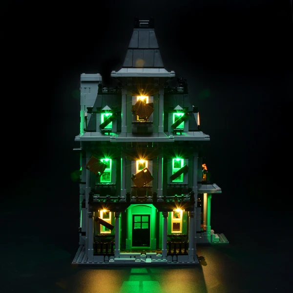 Lights For Monster Fighters Haunted House 10228