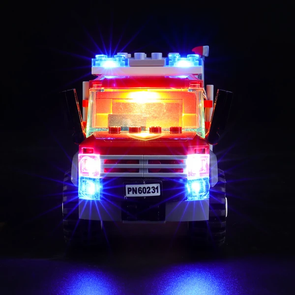 Light Kit For Fire Chief Response Truck 60231