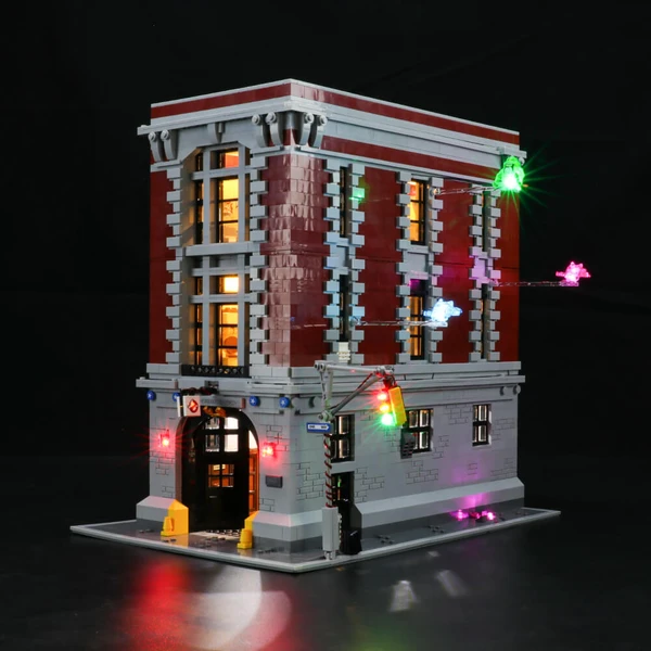 Light Kit For Firehouse Headquarters 75827