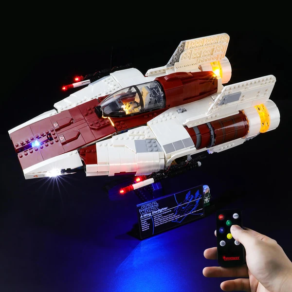 Light Kit For A-Wing Star Fighter 75275
