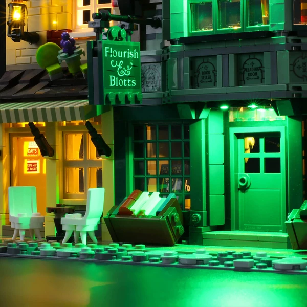 Light Kit For Diagon Alley 75978