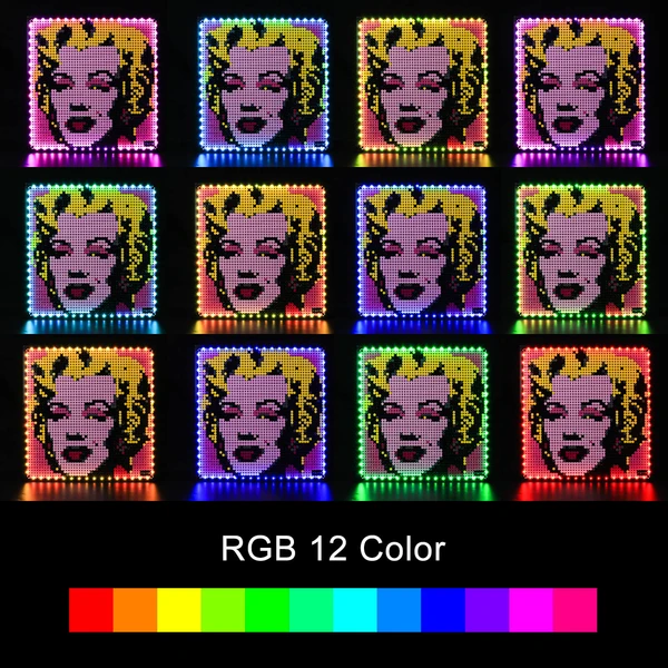 Light Kit For Andy Warhol's Marilyn Monroe 31197