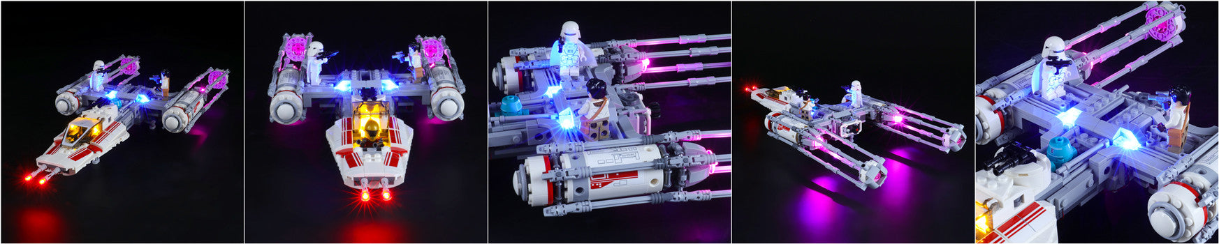 light up lego resistance y wing