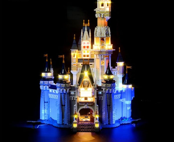 Flashing light kit for disney castle