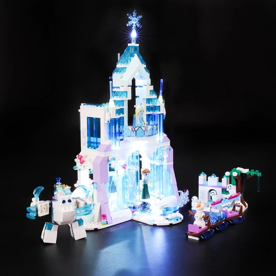 Light Kit For Elsa's Magical Ice Palace 41148