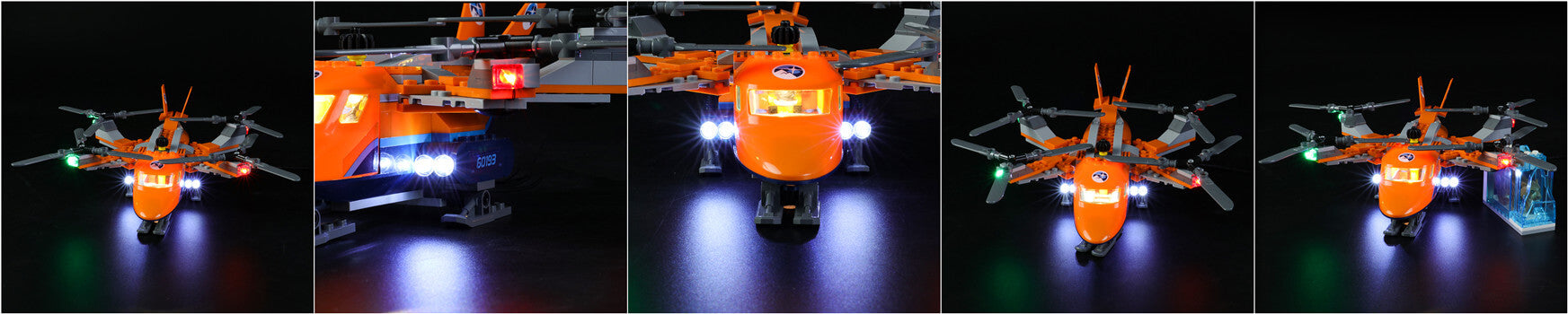 lego city arctic helicopter