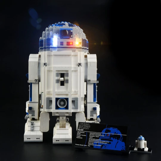 Light kit for R2-D2