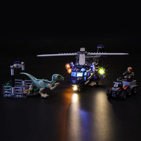 Light Kit For Blue's Helicopter Pursuit 75928