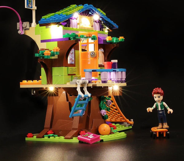 Mia's Tree House lego set light kit