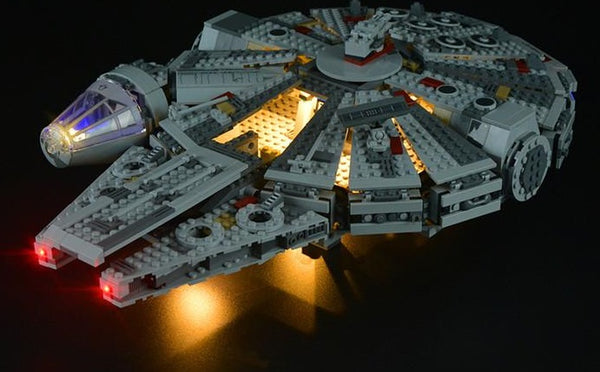 Millennium Falcon 75105 set light kit