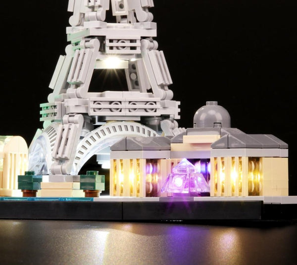 lego Paris 21044 set light kit