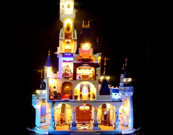 Lego light kit for Disney castle