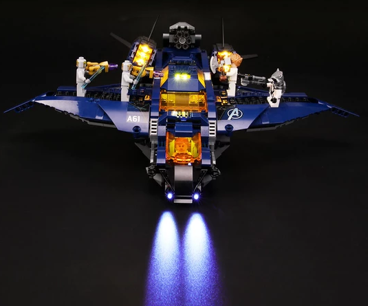 light kit for avenger lego set
