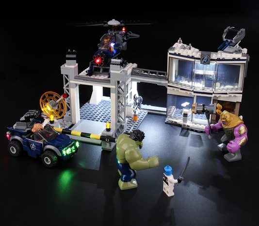 light kit for avengers lego set