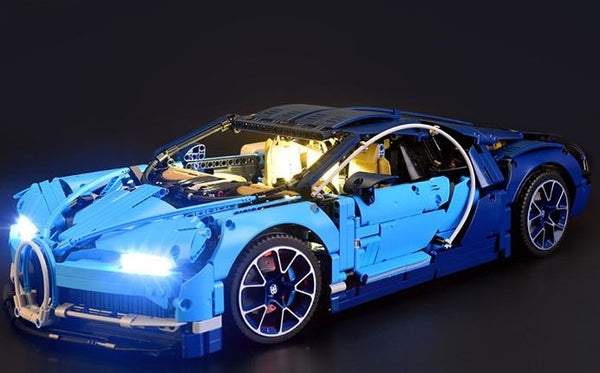 Light kit for Bugatti chiron lego set