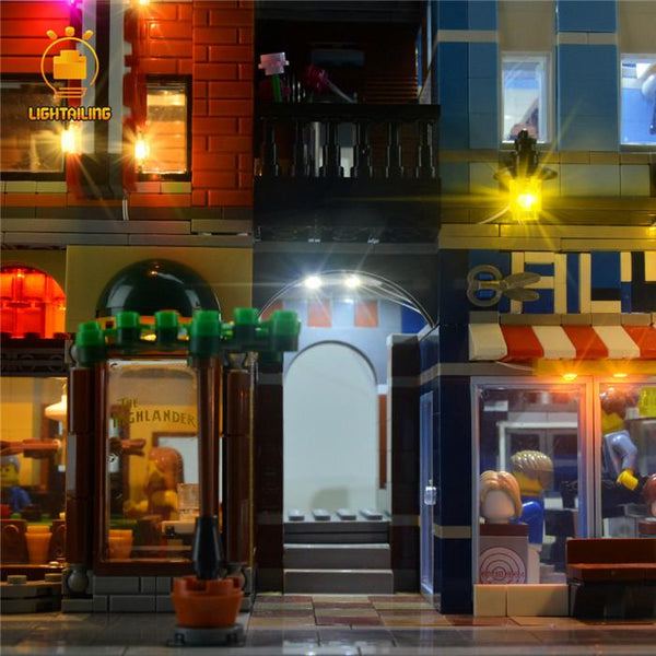 Lego detective office light kit