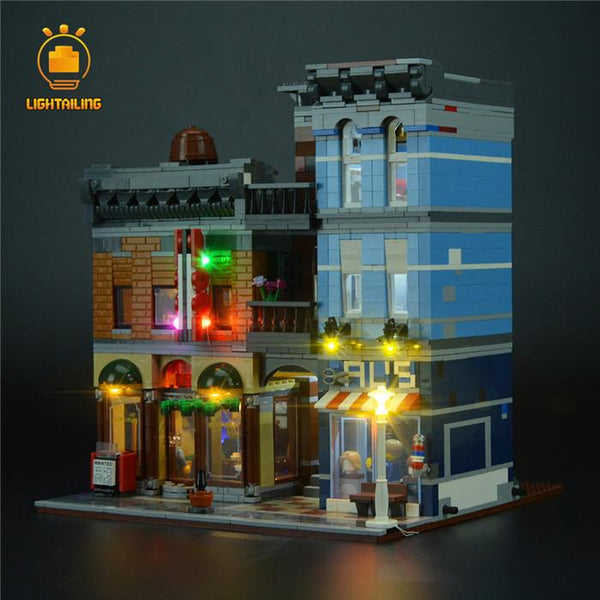 Light kit for detective office