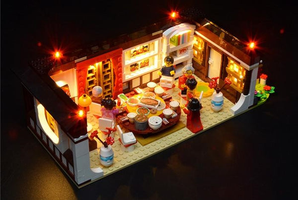 Lego Light kit set for Chinese new year dinner
