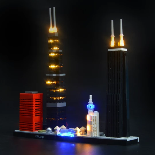 lego las vegas city set light kit