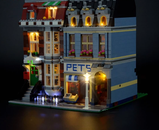 Light kit for Pet shop set