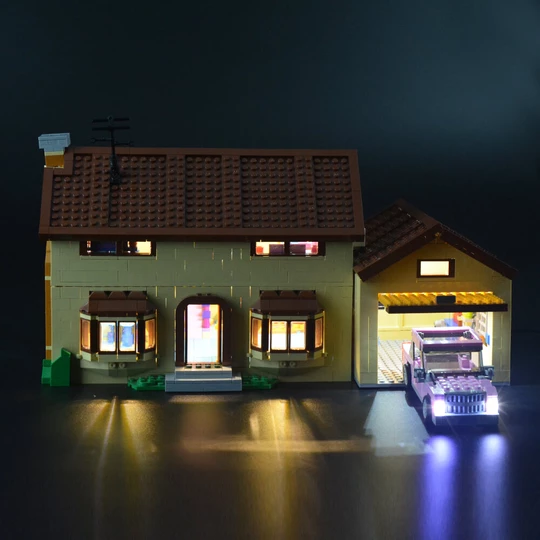 Simpsons House set light kit