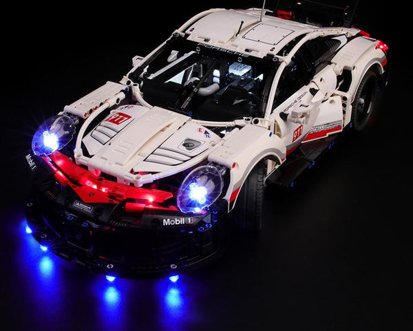 lighting kit LEGO Porsche 911 RSR 42096