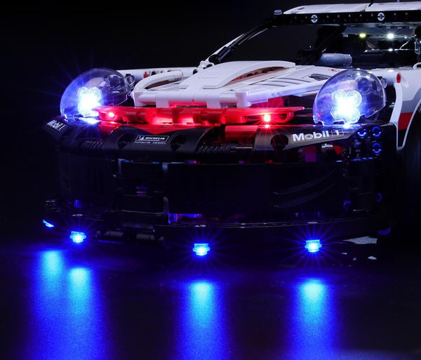 lighting LEGO Porsche 911 RSR 42096
